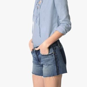 Joe's Jeans Blue OzzieCut Off denim Shorts Rami 28